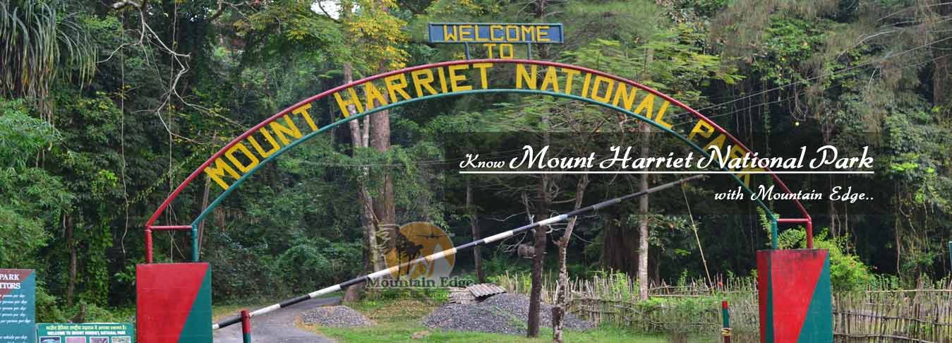 Mount Harriet National Park - Andaman